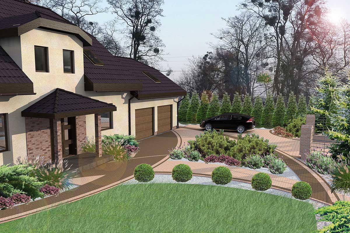 Landscapedesign Projektowanie I Wykonanie Ogrodów Ogrody Szczecin