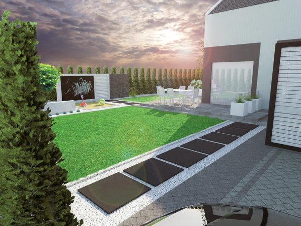 Ogród prywatny Szczecin