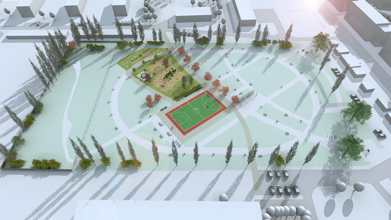 Koncepcja rozwoju parku w Szczecinie