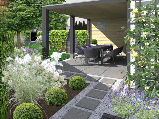 Mały ogród na Osowie