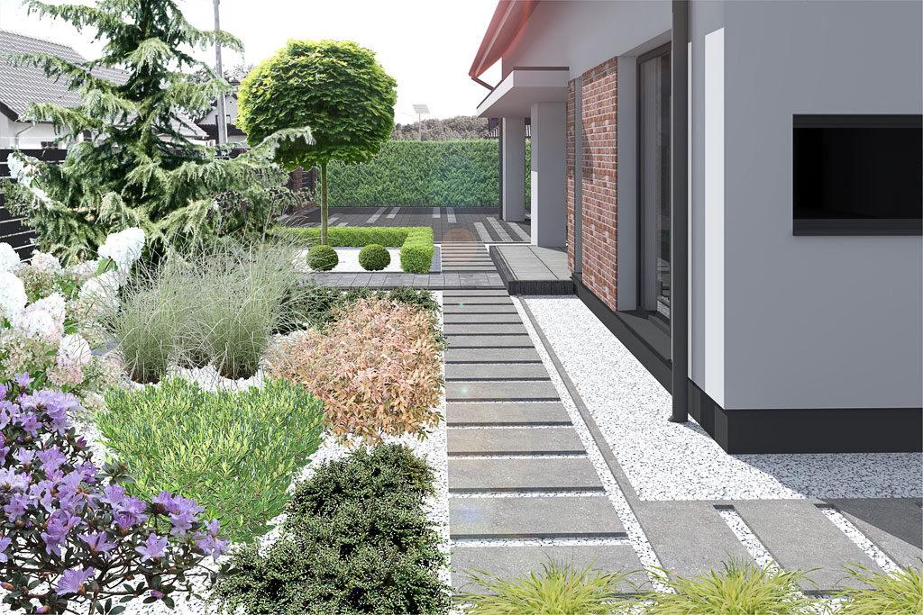 Ogrod Bezrzecze - wizualizacja