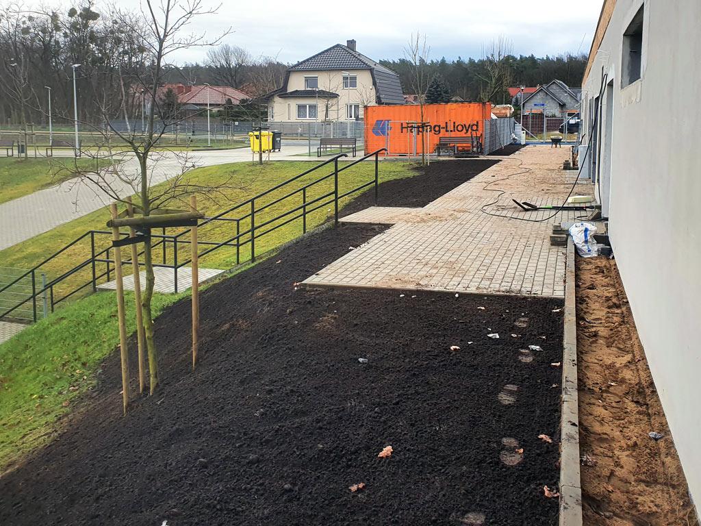 Budowa boiska sportowego