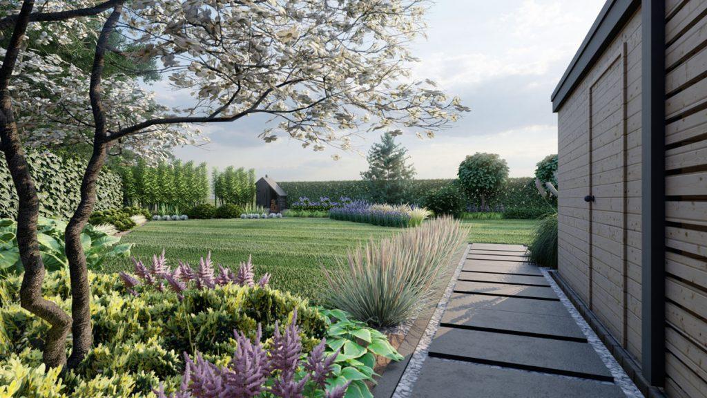 Ogród w Warzymicach