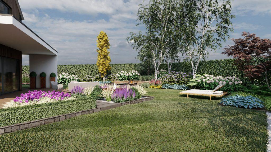 Ogród w Pilchowie