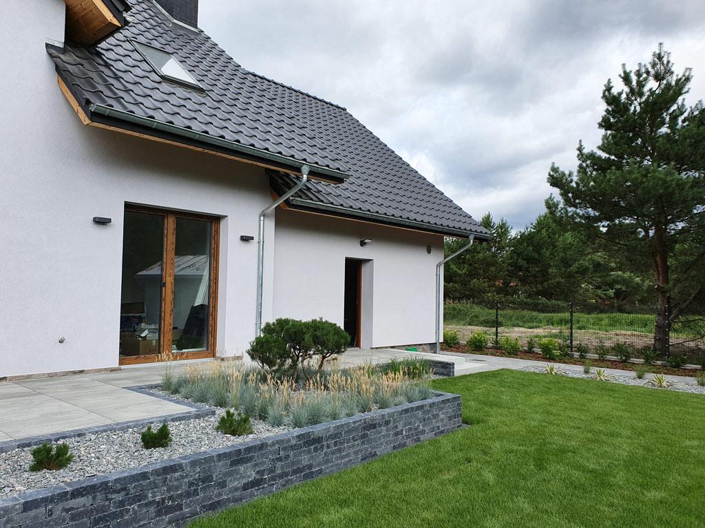 Ogród minimalistyczny